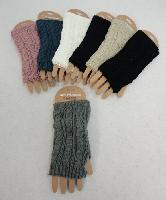 Knitted Hand Warmers [Cable Knit]